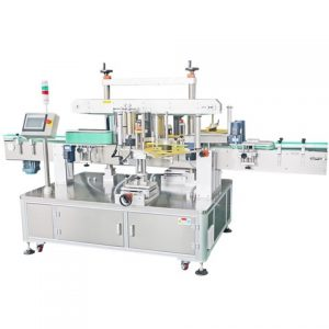 Szójaolaj palack címkéző gép