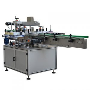 With Label Dispenser Labelling Machine For Round Bottles