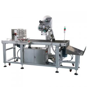 Bádogdoboz címkéző gép etetési gyűjtő lemezjátszóval