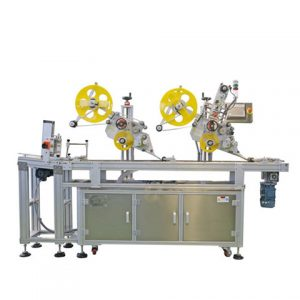 Factory Automatic Sticker Top Surface Labeling Machine