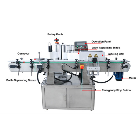 Semiauto Labeling Machine (Flat) Manufacturer & Sticker... - NeoPack