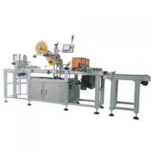 Professzionális dobozos karton címkéző gép sarokzáráshoz