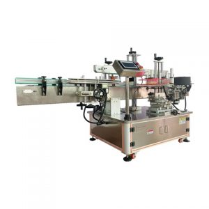 Automatic Top Label Labeling Machine For Vegetable Tray