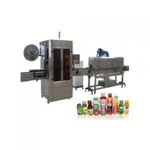 Kúpos üvegragasztó címkéző gép