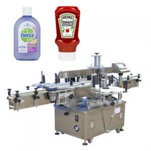 Automatikus öntapadó vödör címkéző gép