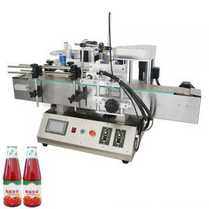 Automatic Cosmetics Composite Plastic Paper Tube Labeling Machine