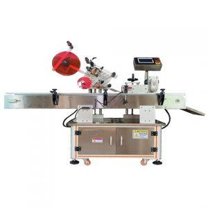 Szójabab szósz kerek palack nagy pontosságú címkéző gép