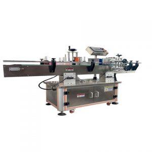 Vízszintes címkéző gép fecskendőkhöz