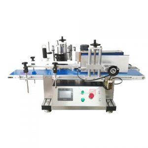 Függőleges üvegpalack címkéző gép