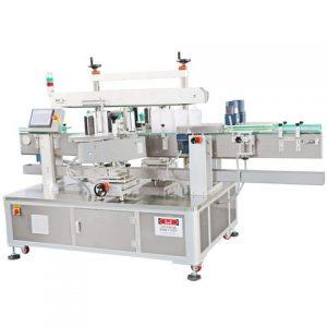 Spirts folyékony palack címkéző gép