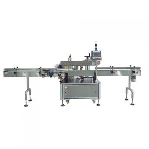 Automatikus matrica 10 ml-es pipettásüveg függőleges címkéző gép