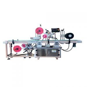 Automatikus sajtzsákok dobozok felső címkéző gép