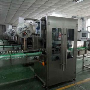 Kétoldalas öntapadó matrica címkéző gép