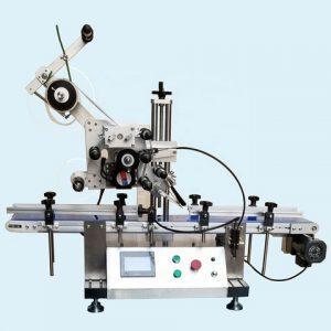 Vízszintes kis orális folyadékpalack címkéző gép