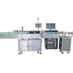 Szemcseppentő kétoldalas címkéző gép