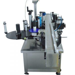 Automatikus ragasztó matrica címkéző gép kerek palackhoz