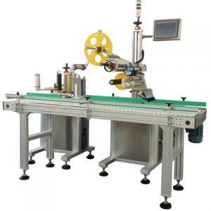 Automatikus 50 ml-es üvegpalack matrica címkéző gép