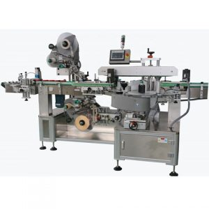 Small Power Nail Polish Labeling Machine For Bottles