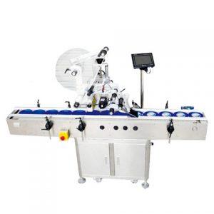 Gyári kimeneti címkéző gép a rózsás teásüveghez