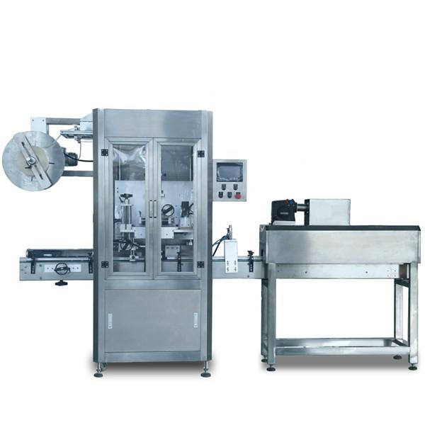Automatikus zsugorító hüvely címkéző gép