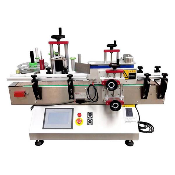 Automatikus asztali palack címkéző gép