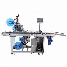 Automatikus felső és alsó lapos címkéző gép részletei
