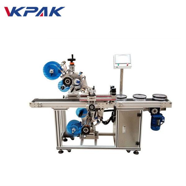 Automatikus felső és alsó lapos címkéző gép