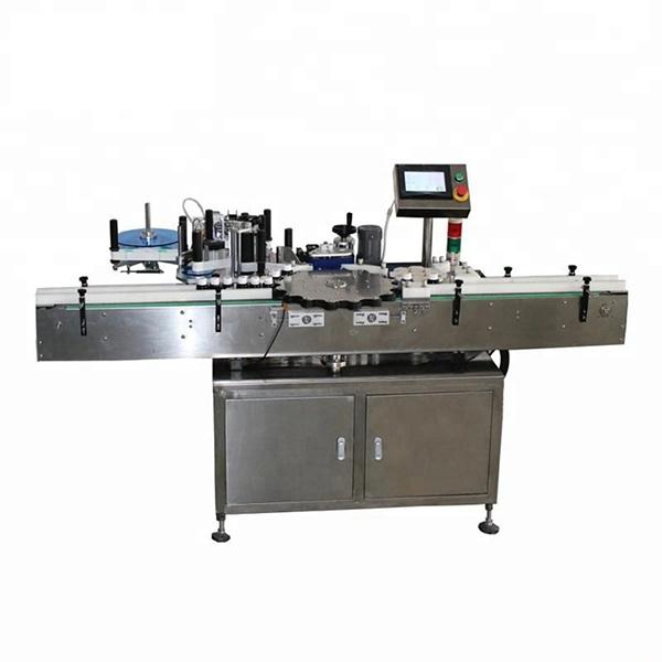 Nagy sebességű rotációs pozícionáló címkéző gép