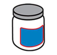 Kerek palack címkézés